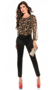 Party jumpsuit Leopard