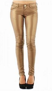Pants skai shinny Gold