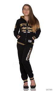 Joggingsuit Black / Gold