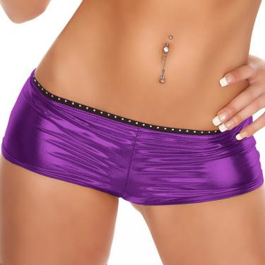 Shorts donker lila