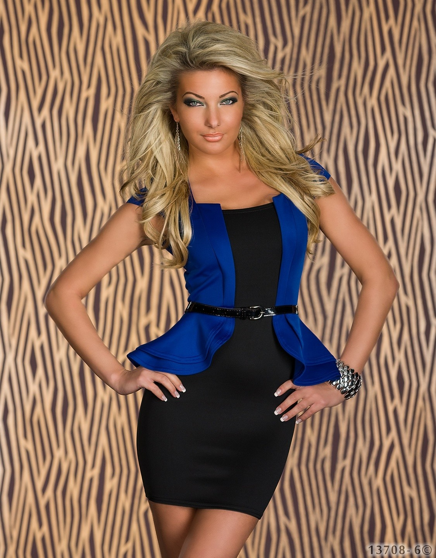 Dress Blue - Black