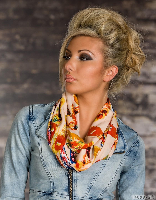 Sjaal Mixed roze