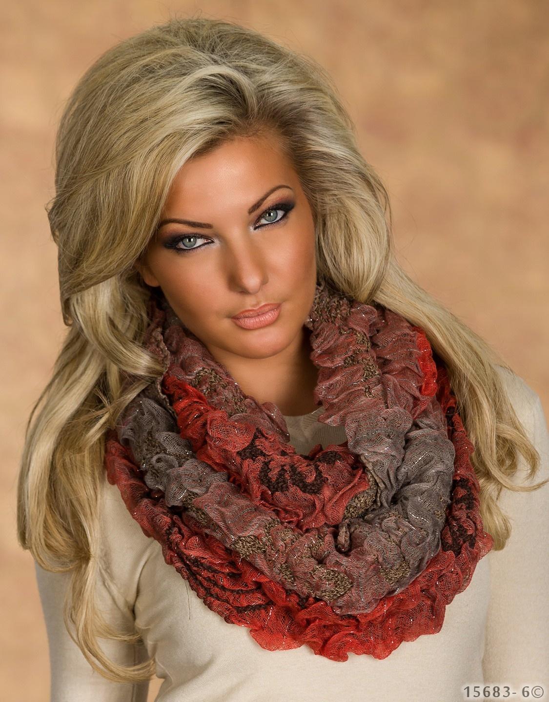 Sjaal Mixed koraal