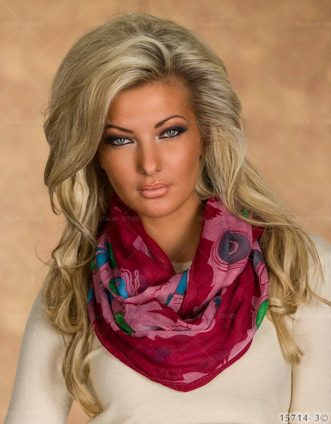 Scarf Mixed light pink