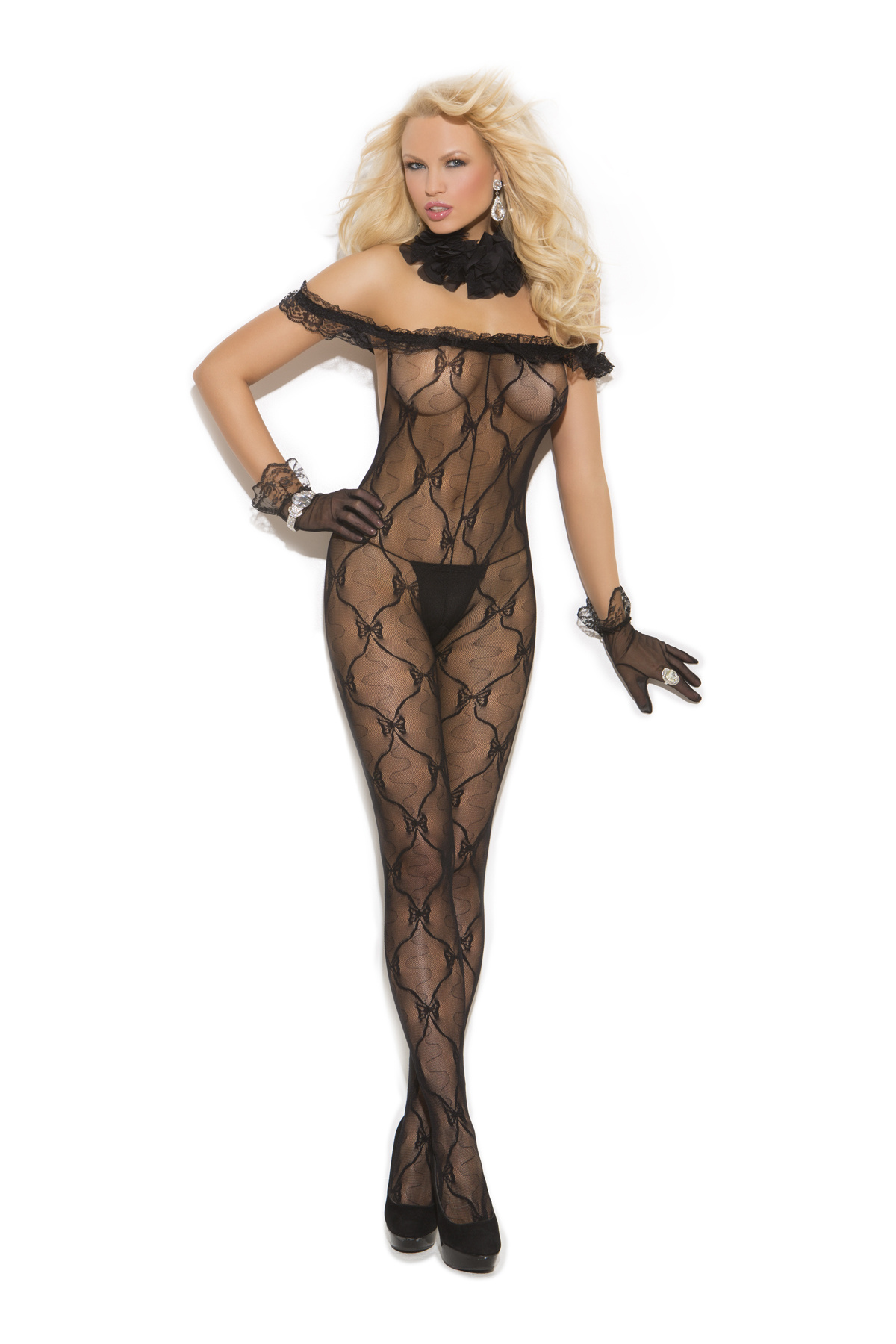 Bodystocking Zwart