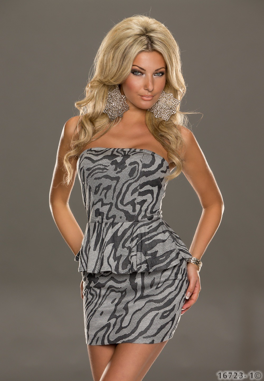 Dress Bright gray