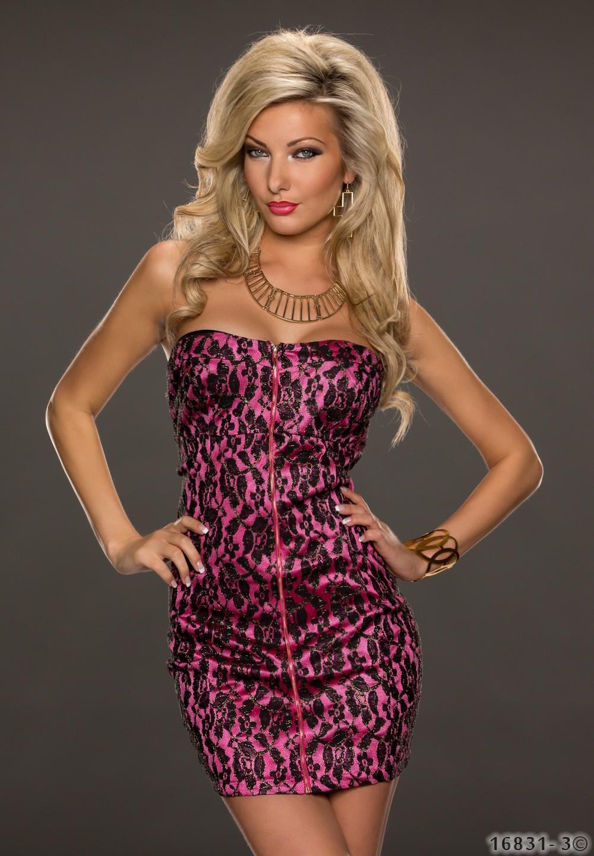 Dress Pink - Black