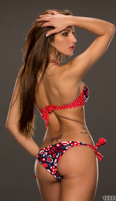 Bikini Mixed red