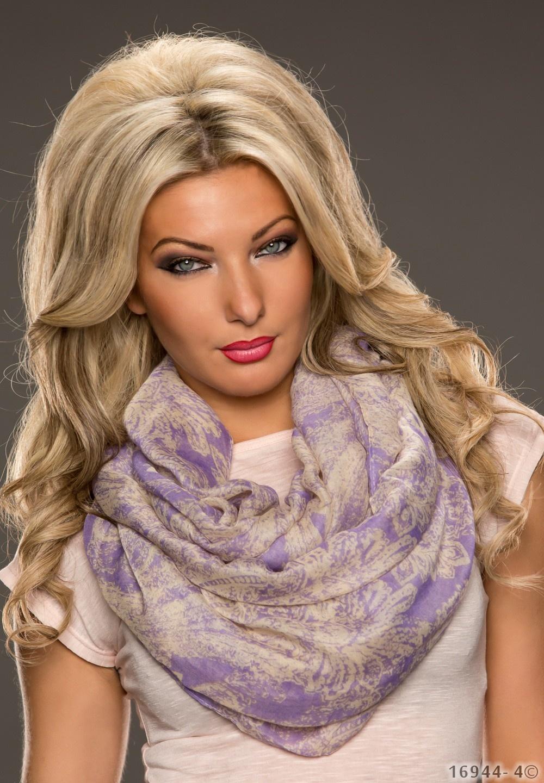 Sjaal Mixed lila