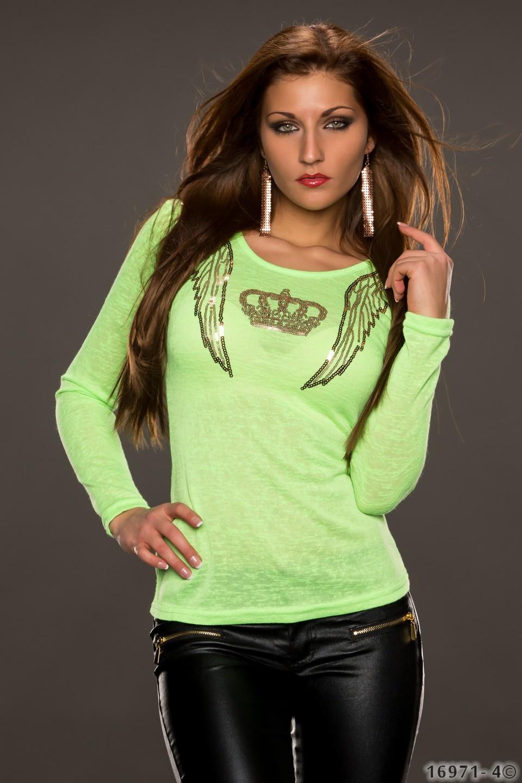Shirt Neon groen