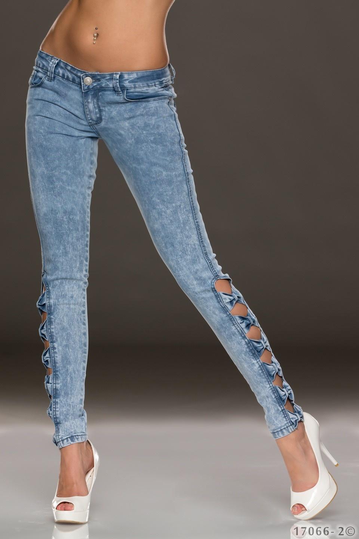 Jeans Helder blauw