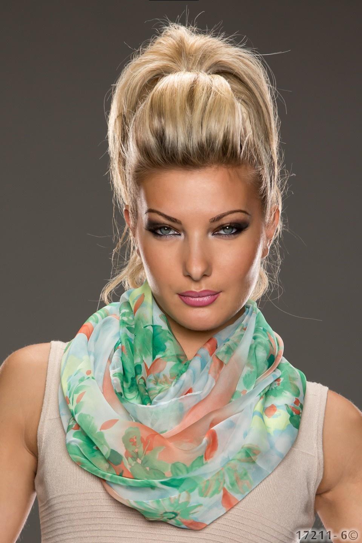 Sjaal Mixed groen