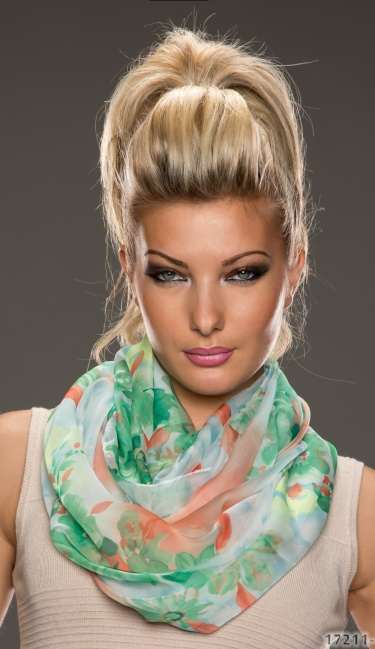 Scarf Mixed green