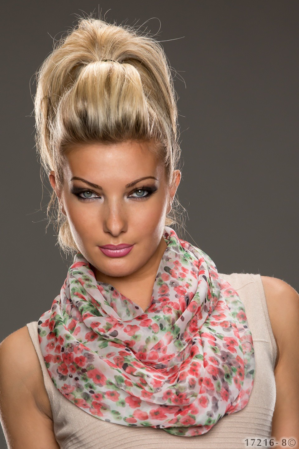 Scarf Red - Green