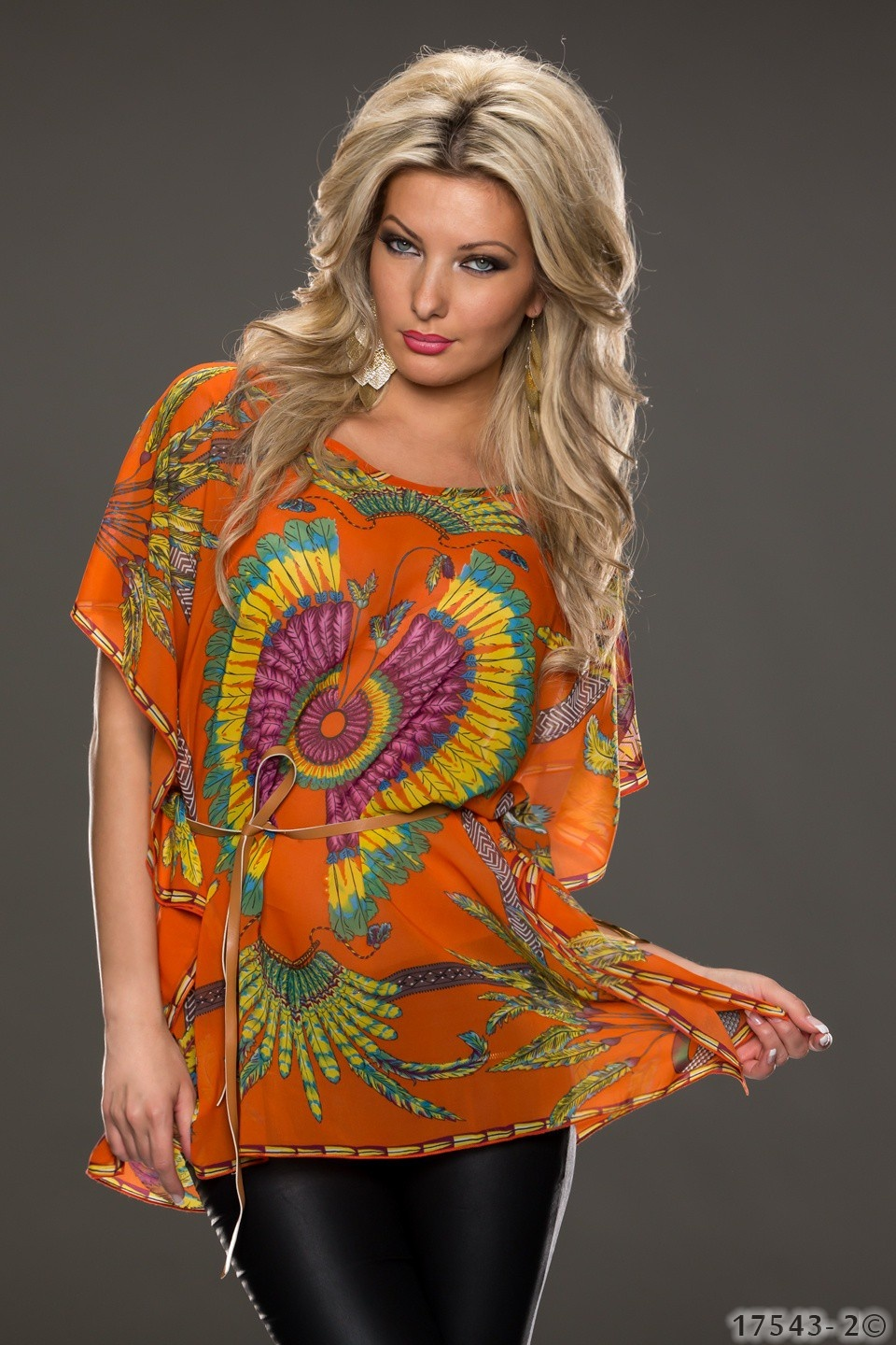 Shirt Mixed oranje