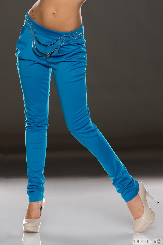 Stof-Broek Blauw