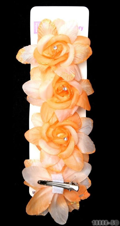 Roos-Haarspeld-Set Oranje