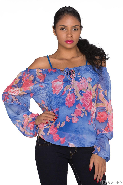 Shirt Mixed - Blauw