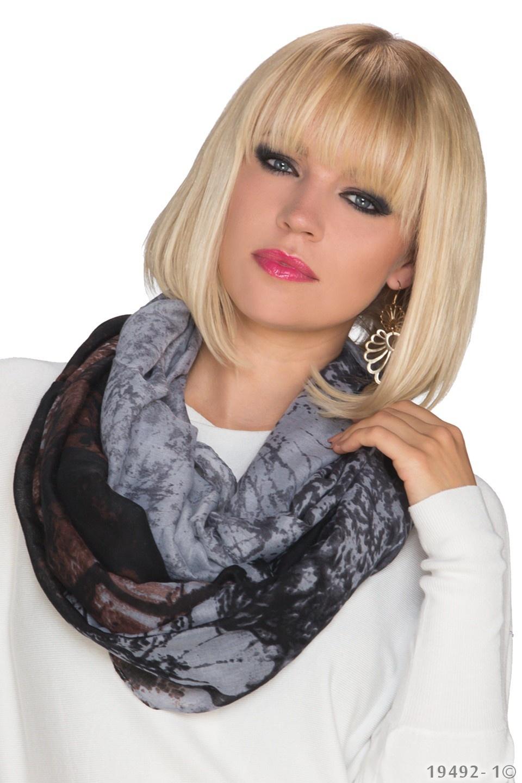 Sjaal Grijs - Zwart