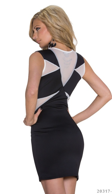 Minidress Black / White