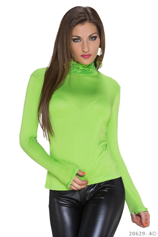 Shirt met lange mouwen Intense-groen