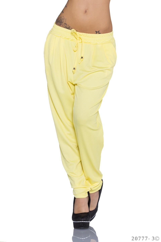 Trousers Geel