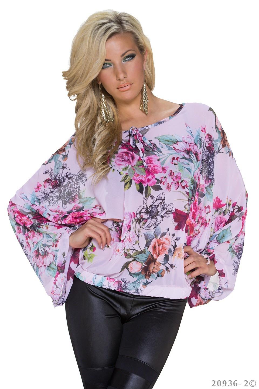 Kimono-Shirt Mixed - Rose