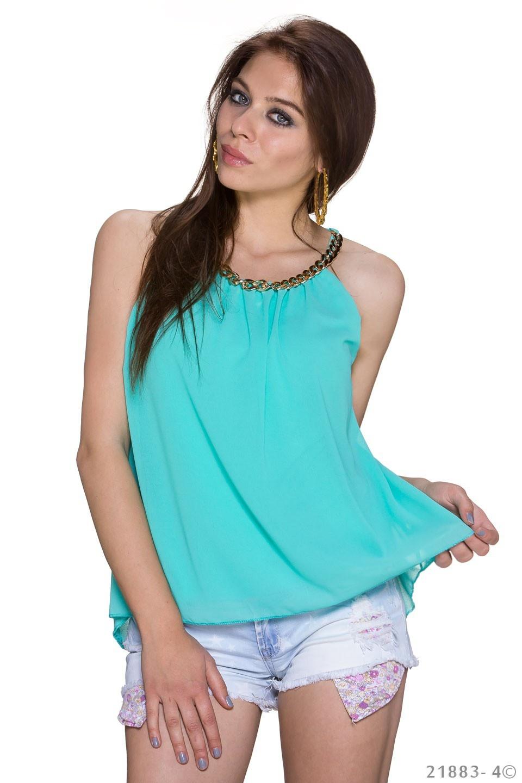 Top Turquoise-Groen