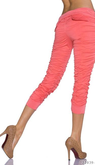 how to wear salmon pants