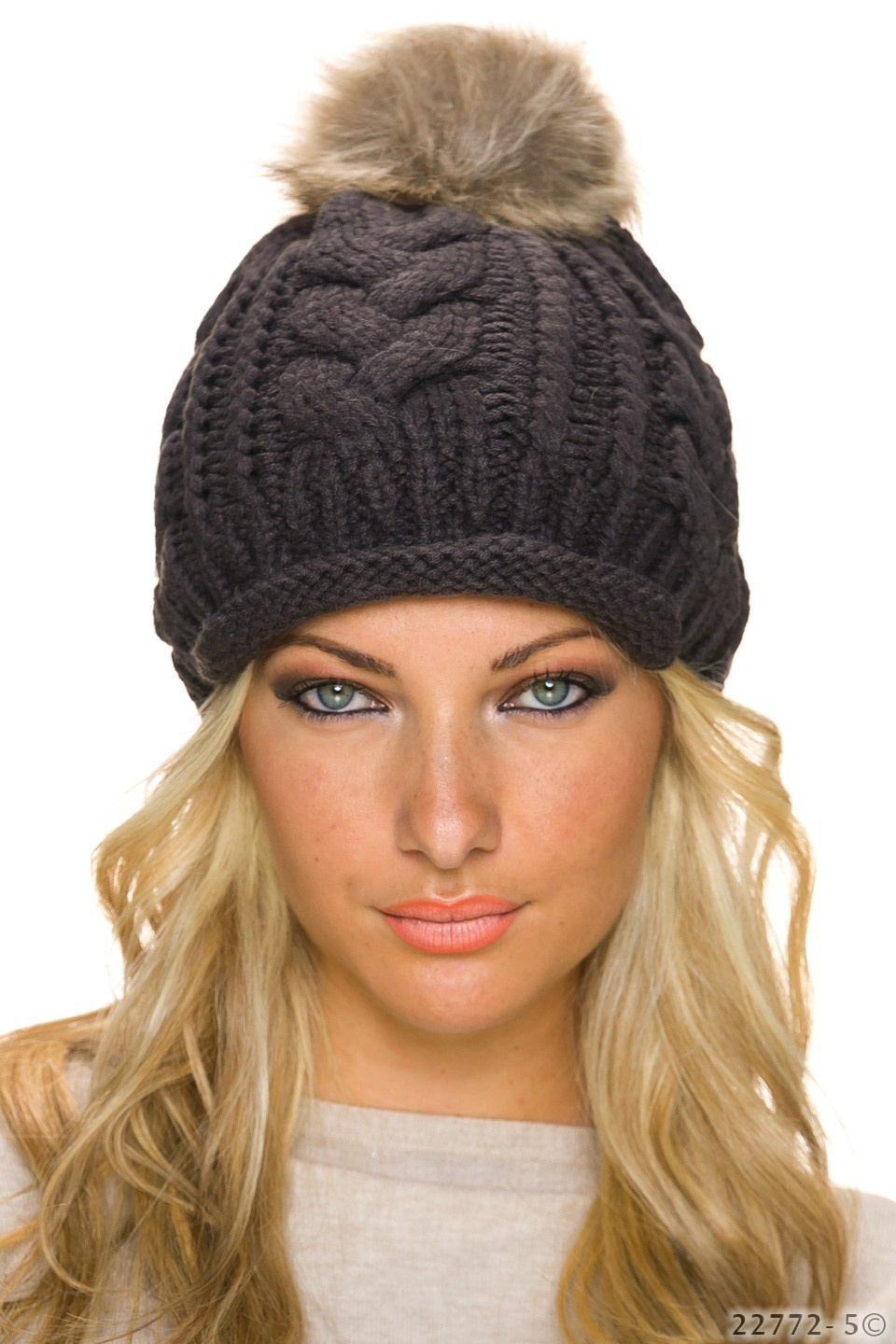 Knitted Hat Anthracite