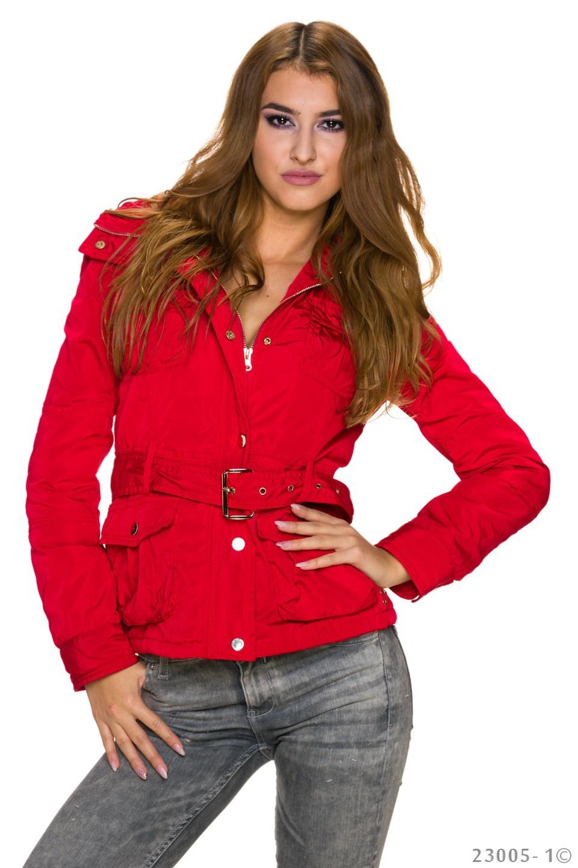 Jacket Rood