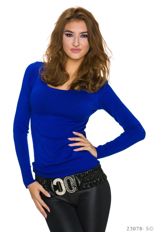 Sweatshirt Koningsblauw