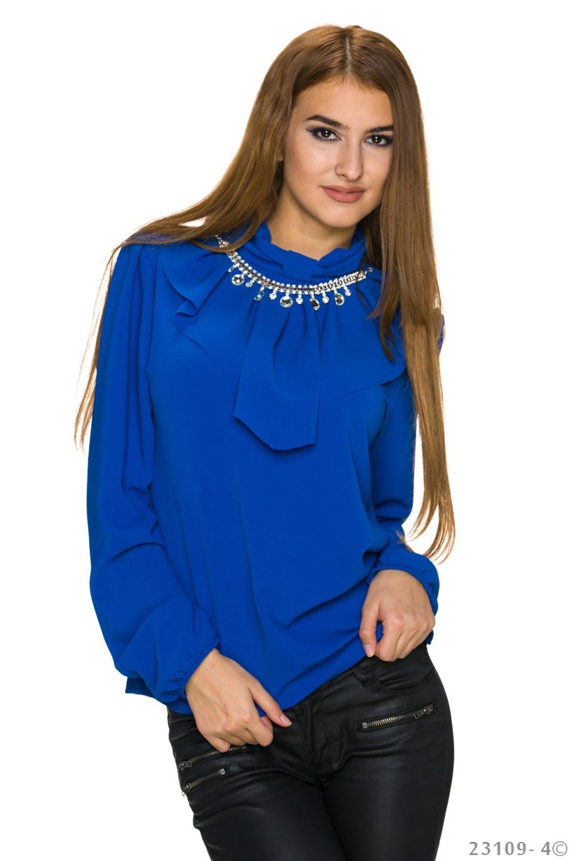 Blouse Koningsblauw