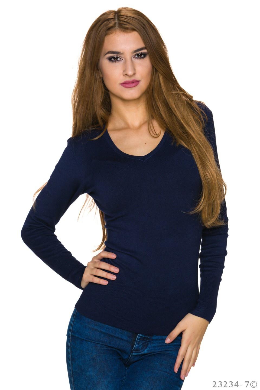 Sweatshirt Donkerblauw