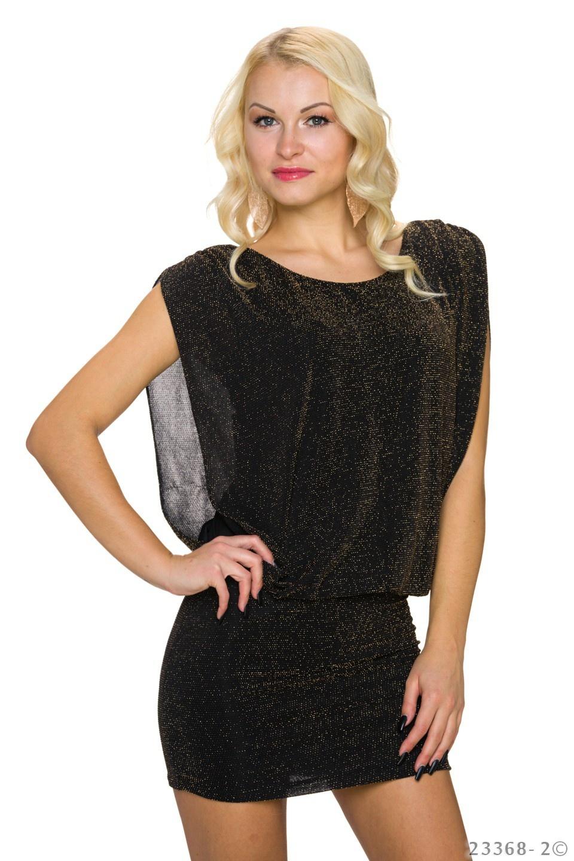 Minidress Black - Gold
