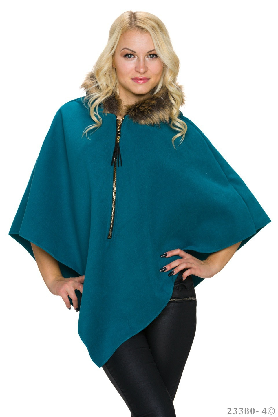 Poncho Tropical-groen