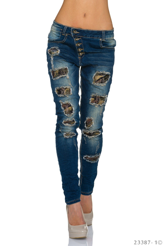 Jeans Indigo blauw