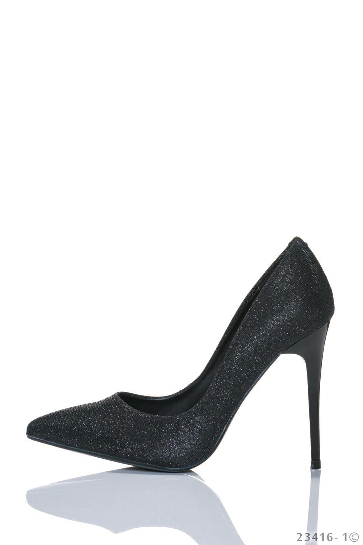 High Heels-Pumps Zwart