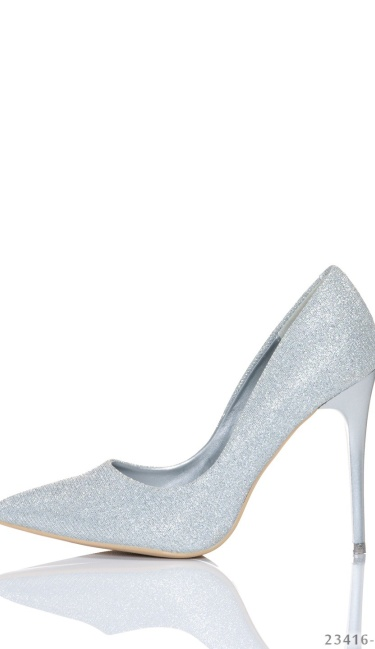High Heels-Pumps Silver