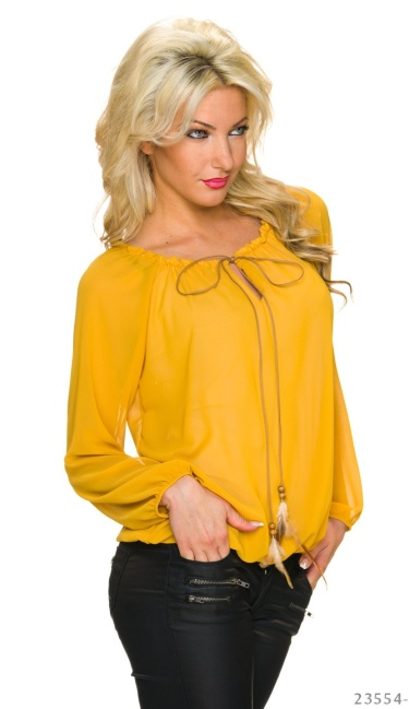 Blouse Mosterd