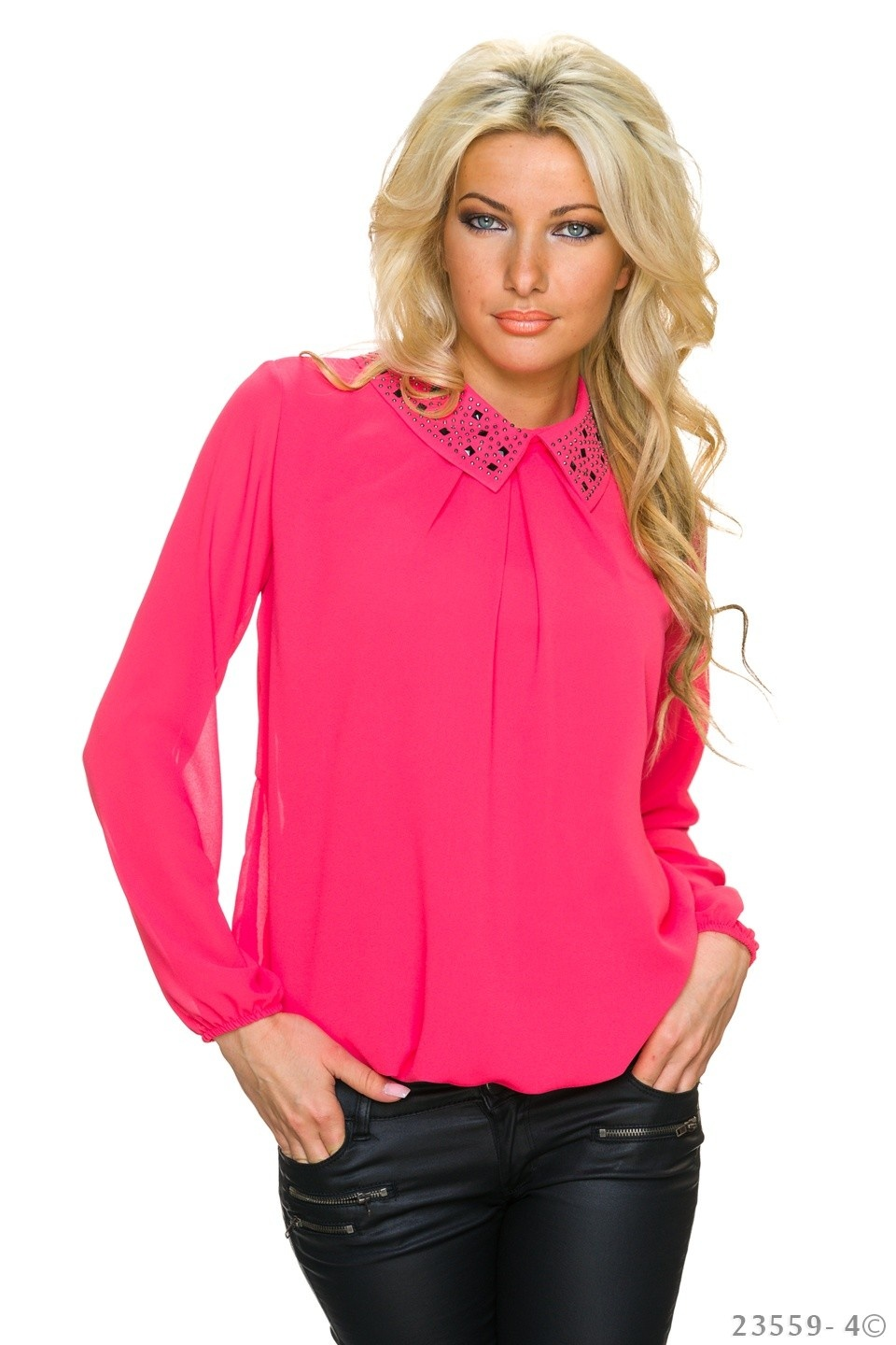 Blouse Salmon