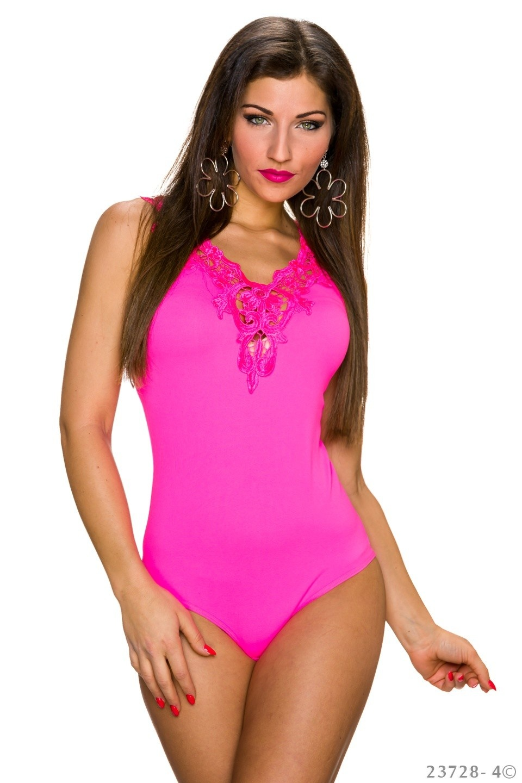 Body-Top Neon-Fuchsia