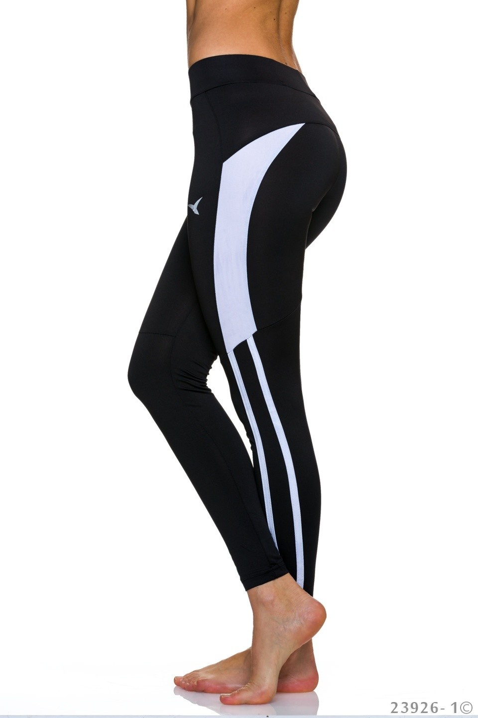 Leggings Zwart - Wit