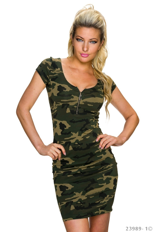 Foto van Mini-Jurkje Camouflage