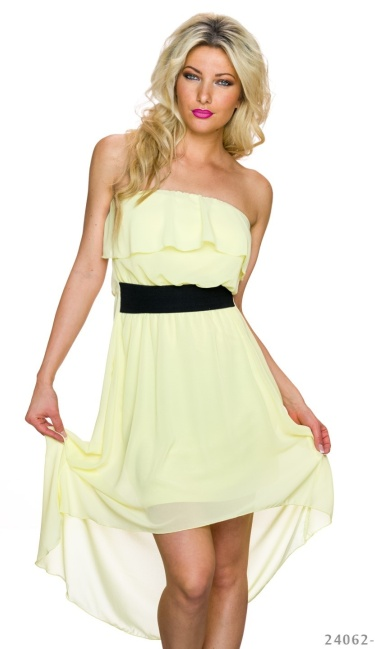 Mullet-Dress Yellow