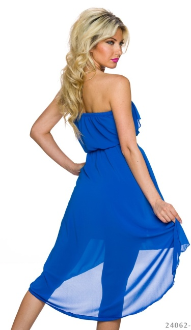 Mullet-Dress Royalblue