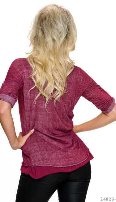 Shirt Wine-Red