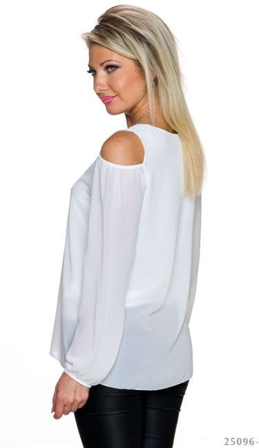 Long-Sleeved-Shirt White