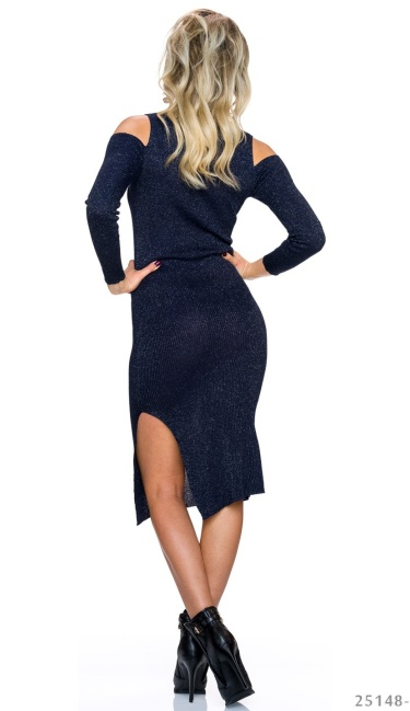 Midi Dress Dark-Blue