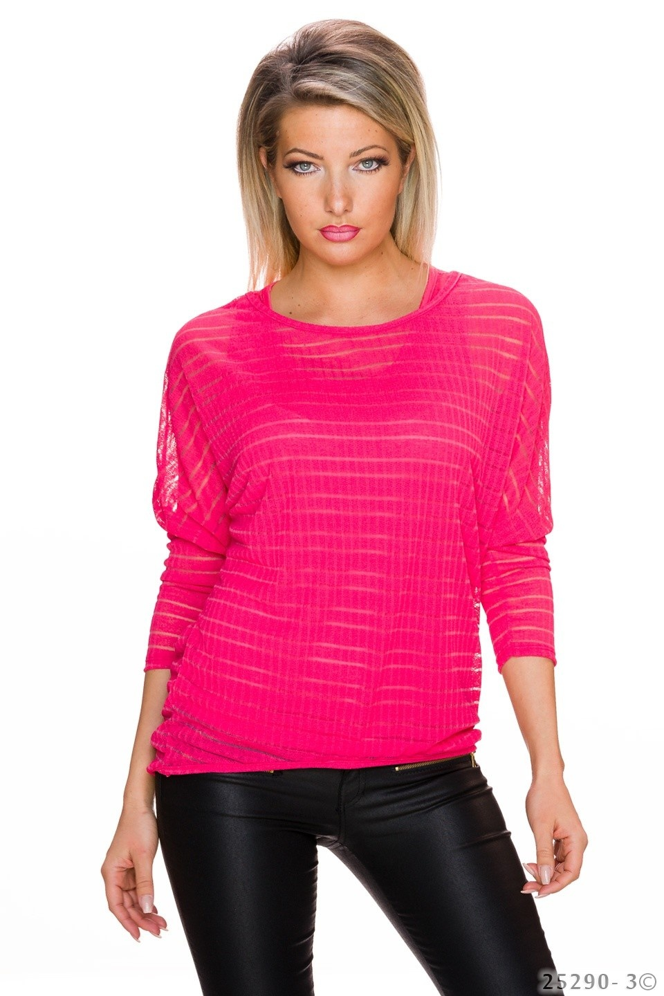 Top + Shirt Zalm